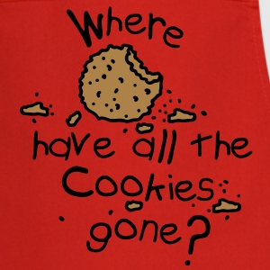 Where have all the cookies gone?  Aprons - Cooking Apron