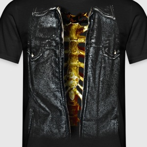 skeleton - Mannen T-shirt