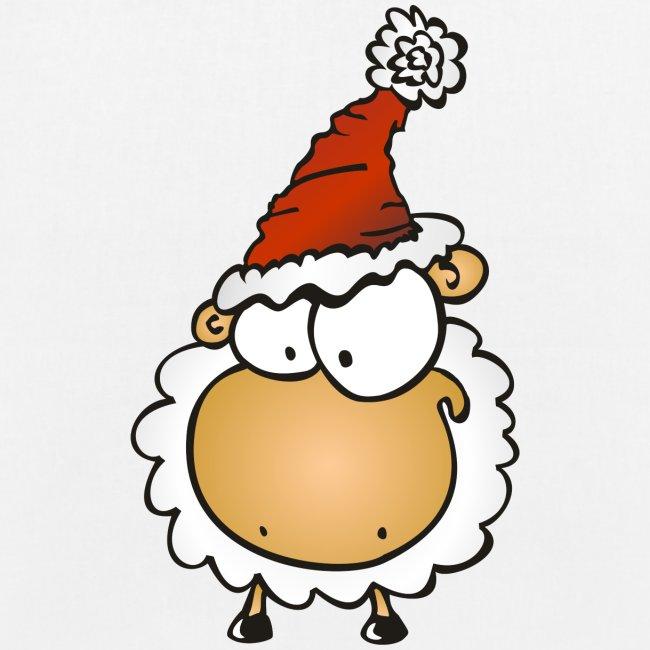 Weihnachts Schaf Tasche