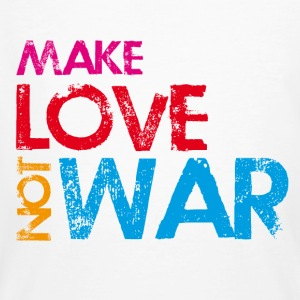 make love not war - Männer Bio-T-Shirt