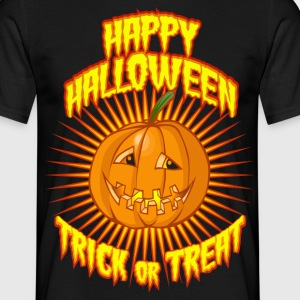 Trick or treat pumpkin - T-shirt Homme