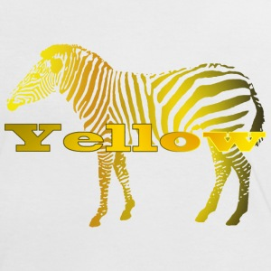 YellowZebra - Frauen Kontrast-T-Shirt
