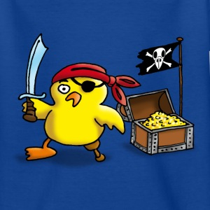 pirate_chick_a Kinder T-Shirts - Teenager T-Shirt