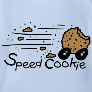 Speed Cookie Body neonato - Body ecologico per neonato a manica corta