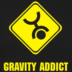 Skydiving Gravity Addict - Men's T-Shirt