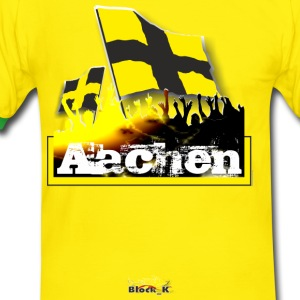 aachen all4one T-Shirts - Männer Kontrast-T-Shirt
