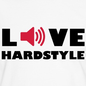 Love Music Hardstyle Music Audiophile speakers amplifier volume T-Shirts - Men's Ringer Shirt