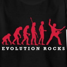 evolution_rocks_a_2c Shirts