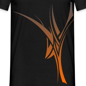 TeeCust n°5 orange - T-shirt Homme