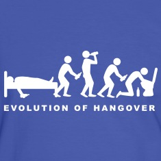 evolution_of_hangover T-Shirts