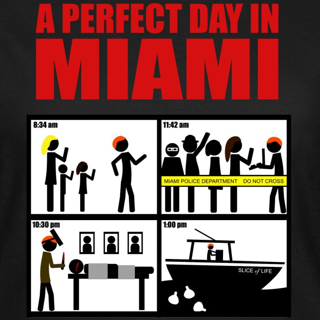 Dexter - a perfect day in Miami