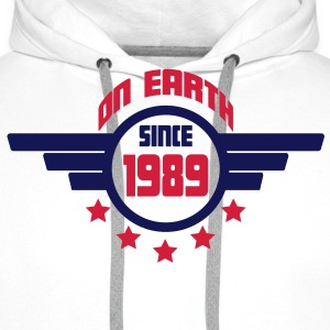 1989_on_earth Sweatshirts - Herre Premium hættetrøje