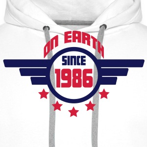 1986_on_earth Sweatshirts - Herre Premium hættetrøje
