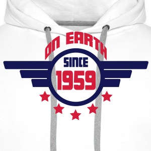 1959_on_earth Sweatshirts - Herre Premium hættetrøje