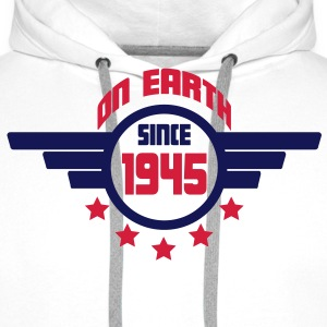 1945_on_earth Sweatshirts - Herre Premium hættetrøje