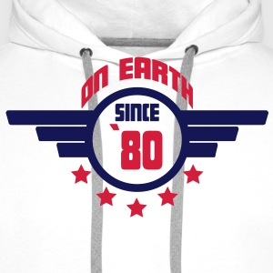 80_on_earth Sweaters - Mannen Premium hoodie
