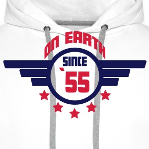 55_on_earth Sweatshirts - Herre Premium hættetrøje