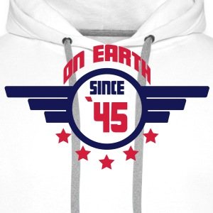 45_on_earth Sweatshirts - Herre Premium hættetrøje