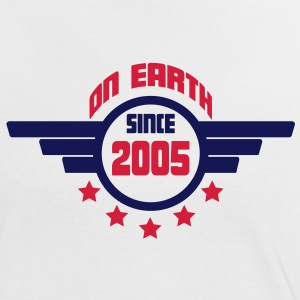 2005 on earth - Geburtstag -T-Shirts - Frauen Kontrast-T-Shirt