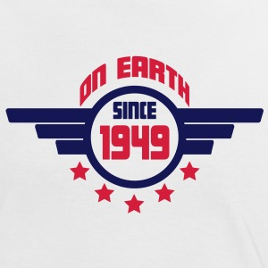 1949 on earth - Geburtstag -T-Shirts - Frauen Kontrast-T-Shirt