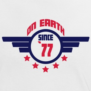 77_on_earth T-Shirts - Women's Ringer T-Shirt