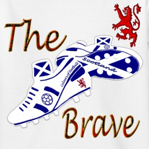 Scotland the Brave Football Kids - Teenage T-shirt