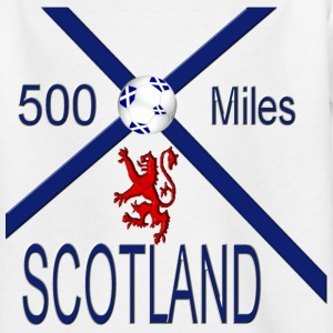 Scotland 500 miles kids tee - Teenage T-shirt