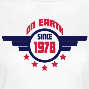1978_on_earth Camisetas - Camiseta mujer