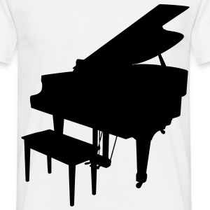 music piano grand piano T-Shirts - Men's T-Shirt