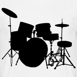 music drumset drum T-Shirts - Men's T-Shirt
