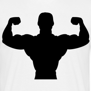 bodybuilder sport fitness muscle T-shirts - Herre-T-shirt