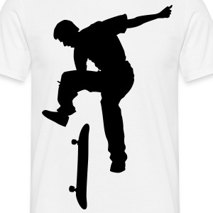 skateboard x games logo sport skate board T-Shirts - Men's T-Shirt