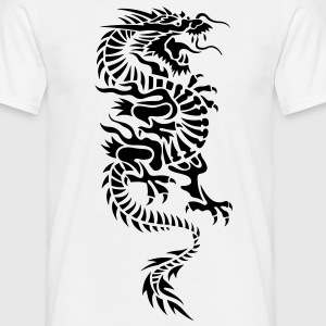 chinese dragon tribal T-shirts - Herre-T-shirt