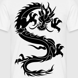chinese dragon tribal T-Shirts - Men's T-Shirt