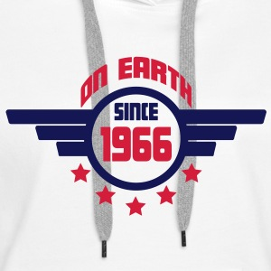 1966_on_earth Sweatshirts - Dame Premium hættetrøje