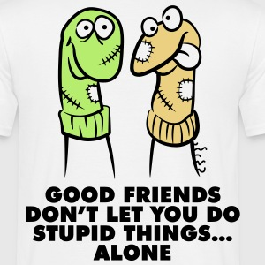 Good Friends 1 (3c)++ T-shirts - T-shirt herr