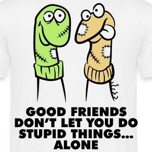 Good Friends 1 (3c)++ T-Shirts - Männer T-Shirt