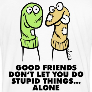 Good Friends 1 (3c)++ T-shirts - Mannen Bio-T-shirt