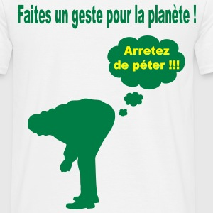 ecologie_humour Tee shirts - T-shirt Homme