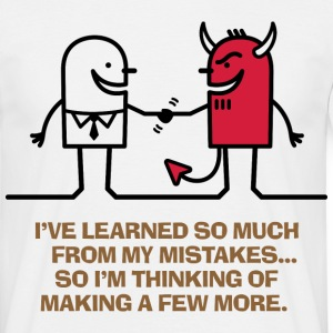 Learned From Mistakes 1 (dd)++ Camisetas - Camiseta hombre
