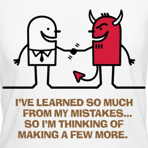 Learned From Mistakes 1 (dd)++ T-shirt - T-shirt ecologica da donna