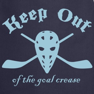Keep Out Of The Goal Crease (Ice Hockey)  Aprons - Cooking Apron