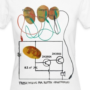 Fresh Music For Rotten Vegetables  - Frauen Bio-T-Shirt