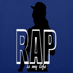 rap is my life Sacs - Tote Bag