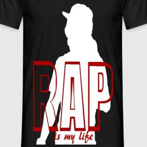 rap is my life Camisetas - Camiseta hombre
