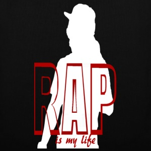 rap is my life bolsas - Bolsa de tela