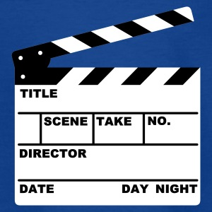 clapperboard (writable flex) :-: - T-shirt tonåring