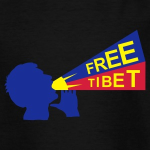 free tibet :-: - Teenage T-shirt