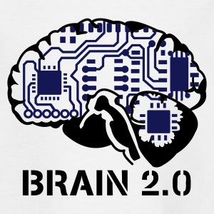 brain 2.0 :-: - T-shirt Ado