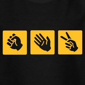 Rock-paper-scissors  :-: - T-shirt tonåring